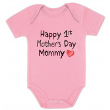 Happy First Mothers Day Mommy Body Suit Gift Idea