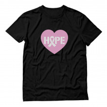 Heart Shaped Hope Pink Ribbon