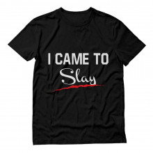 I Came To Slay - Nail Scratch Print