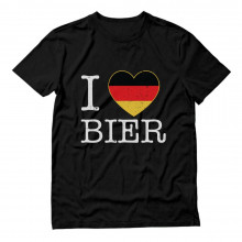 I Love Bier Oktoberfest German Flag