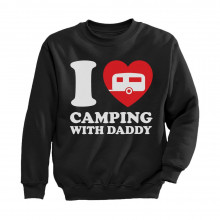 I Love Camping With Daddy Children