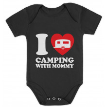 I Love Camping With Mommy Babies