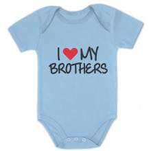 I Love My Brothers Siblings Baby Shower Gift Babies