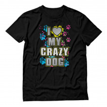 I Love My Crazy Dog Graphic