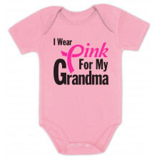 I Wear Pink for Grandma Breast Cancer Awareness