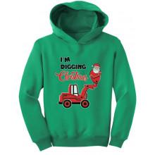 I'm Digging Christmas Santa