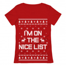 I'm On The Nice List Ugly Christmas