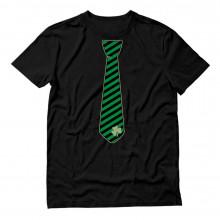 Striped Clover Tie