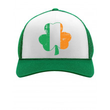 Irish Flag Clover Cap