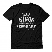 KINGS Are Born In February Birthday Gift
