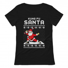 Kung Fu Santa Ugly Christmas Sweater