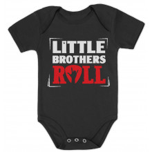 Little Brothers Roll Babies