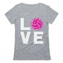 Love Volleyball Pink Ball