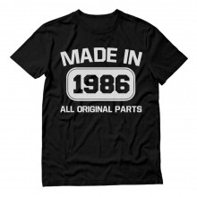 Made In 1986 All Original Parts