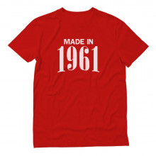 Made in 1961 Retro