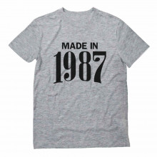 Made in 1987 Birthday Gift