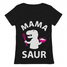 Mother's Day T-Shirt Gift Mama Saur