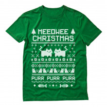 Meeowee Christmas Ugly Sweater