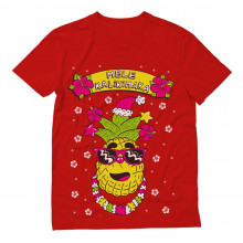 Mele Kalikimaka Hawaiian Pineapple Ugly Christmas