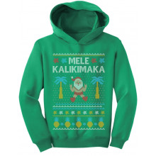 Mele Kalikimaka Santa Hawaiian Ugly Christmas