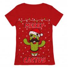 Merry Cactus Funny Ugly Christmas