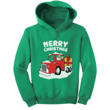 Merry Christmas Santa Gift Truck