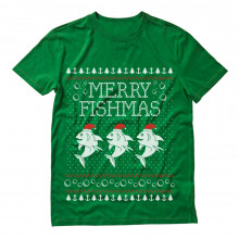 Merry Fishmas Ugly Christmas