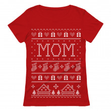 Mom Ugly Christmas Sweater