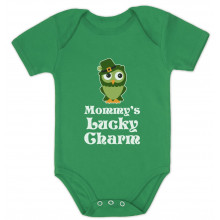 Mommy's Lucky Charm Irish Owl
