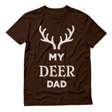 My Deer Dad Reindeer Antlers Christmas