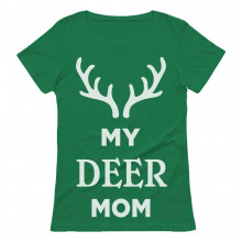 My Deer Mom Reindeer Antlers Christmas
