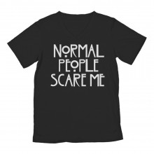 Normal People Scare Me Cool Slogan TV Inspired