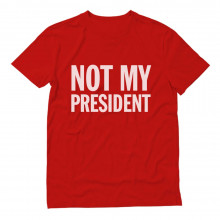 Not My President Protest Anti
