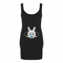 Picaboo Bunny Peeking Baby