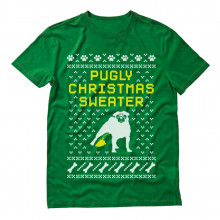 Pugly Ugly Christmas Sweater - Cute Xmas Party
