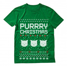 Purrry Christmas Ugly Sweater