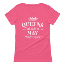 QUEENS Are Born In May Birthday Gift