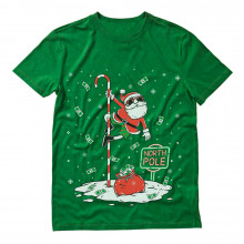 Santa North Pole Dancing Funny Ugly Christmas