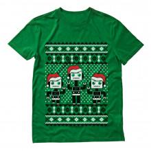 Santa's Dancing Robots Ugly Christmas
