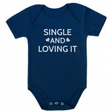 Single And loving It Cute Baby Valentine's Day Gift