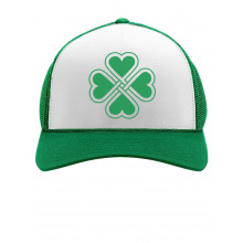 Green Heart Clover Cap