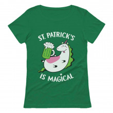 St. Patrick's Is Magical Unicorn with Beer