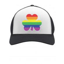 Rainbow Clover Cap