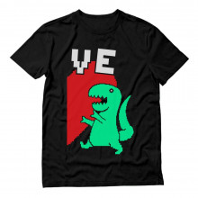 T-REX Love Half Heart