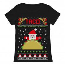 Taco Santa Ugly Christmas Funny