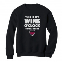 This Is My Wine O'clock Sweatshirt