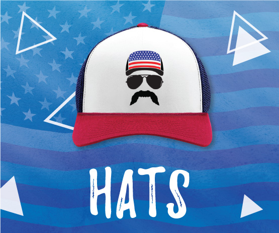 4th of july hats